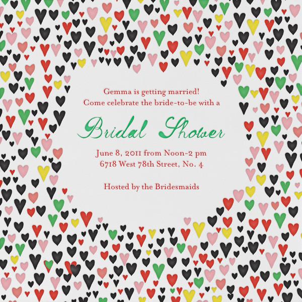 Our Giddy Bride - Black - Mr. Boddington's Studio - Bridal shower