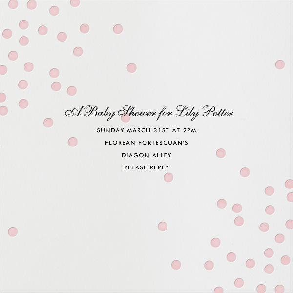 Pink Dots - Linda and Harriett - Baby shower