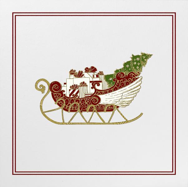Sleigh - Paperless Post - Christmas