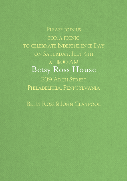 Bevel - Kelly Green - Paperless Post - null - card back