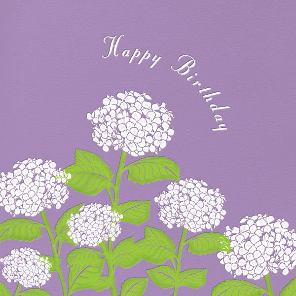 Hydrangea (Lilac) - Paperless Post