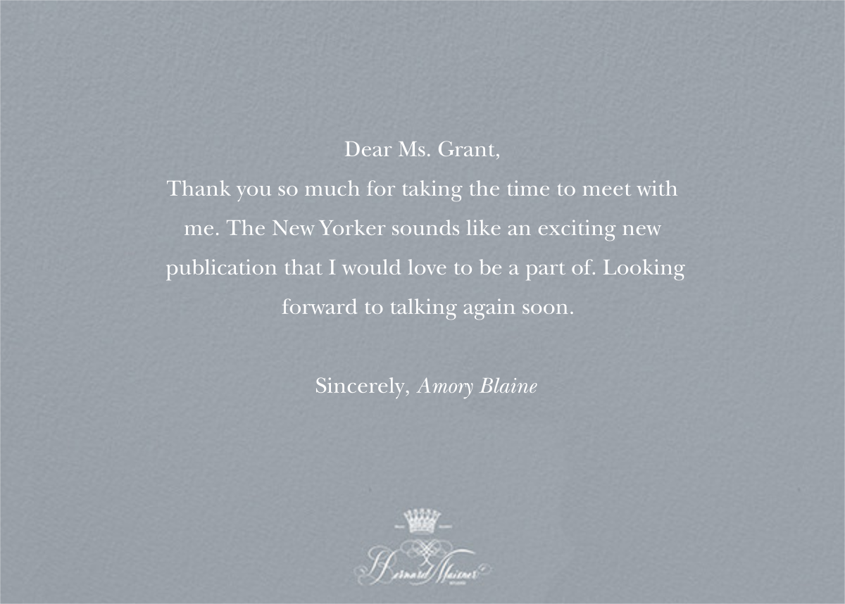 Thank You - Pacific - Bernard Maisner - Thank you - card back