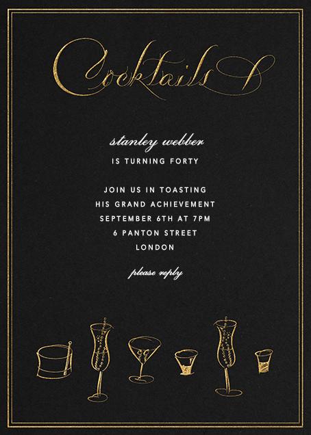 Cocktails - Bernard Maisner - Bernard Maisner Studio