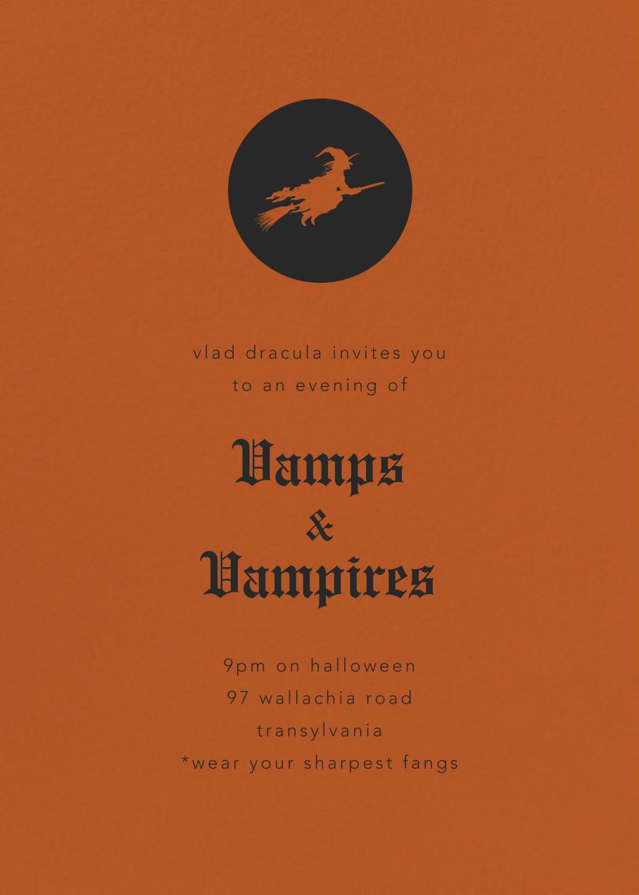 Pumpkin - Paperless Post - Halloween