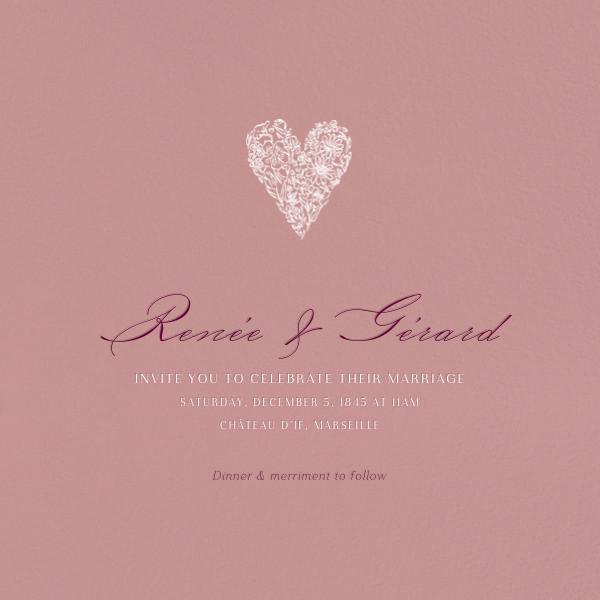 Tea Rose (Invitation) - Paperless Post - All