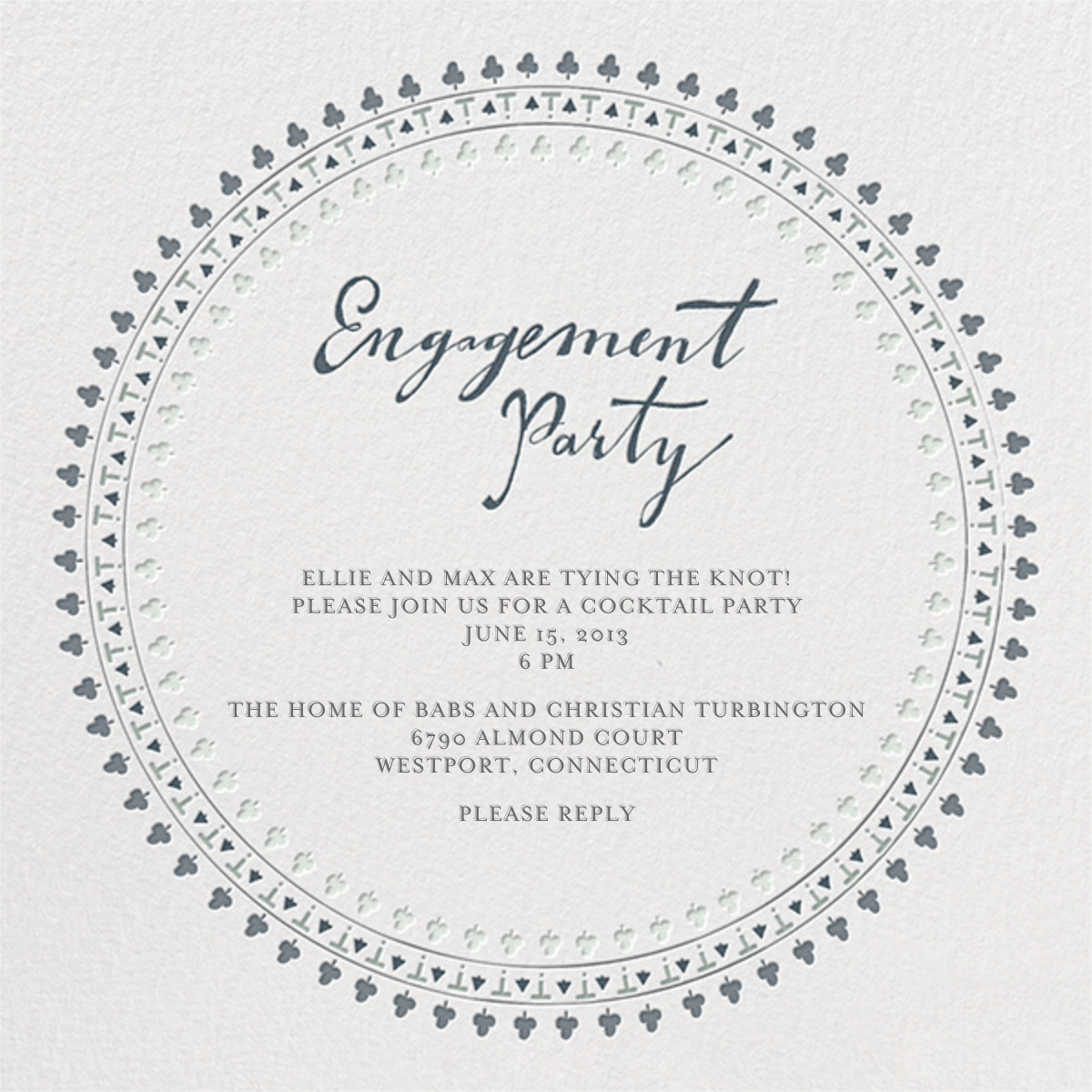 Are You Engaged - Grays - Mr. Boddington's Studio - Engagement party