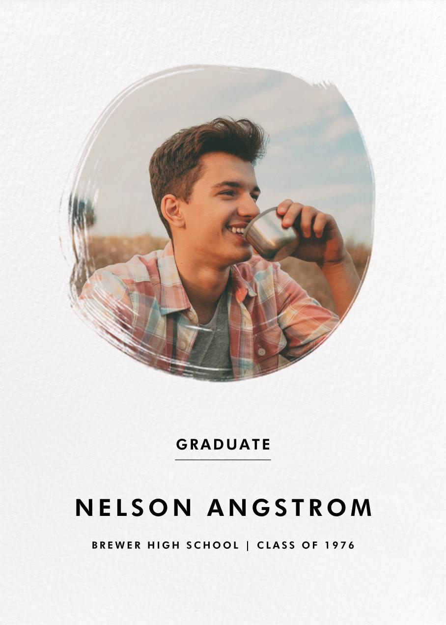 Painted Circle - Paperless Post - Graduation