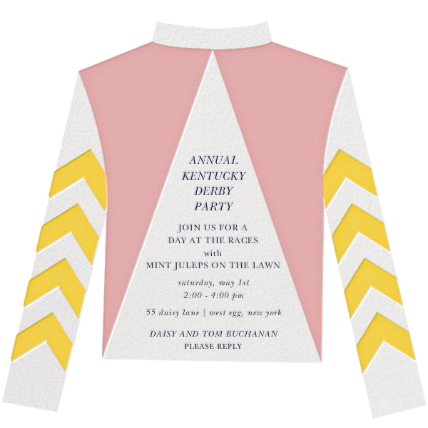 Racing Silk Chevron - Paperless Post - Sports