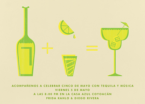 Margarita Equation - Sand - Paperless Post - Bachelorette party