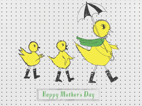 Mama Duckie and Her Twins - Mr. Boddington's Studio - Mother's Day