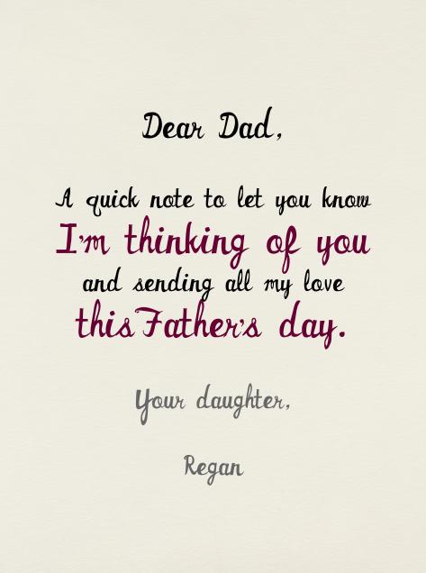 Father's Day Prix Fix - Mr. Boddington's Studio - Father's Day - card back