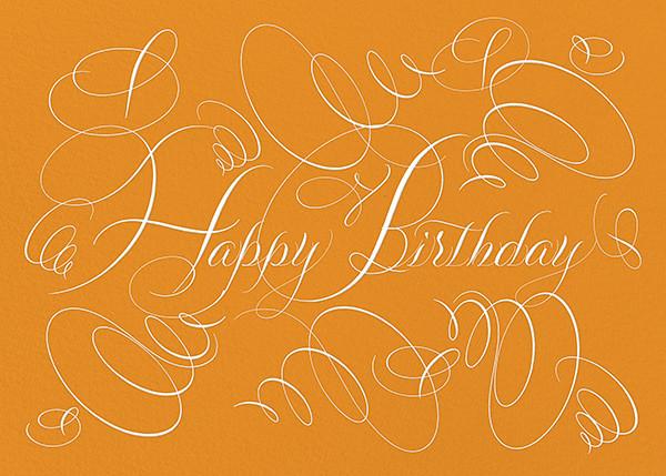 Happy Birthday - Kumquat - Bernard Maisner