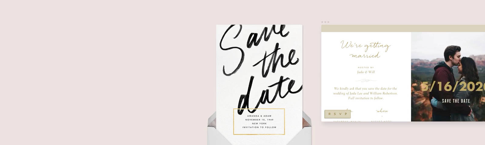 Save The Dates Send Online Instantly
