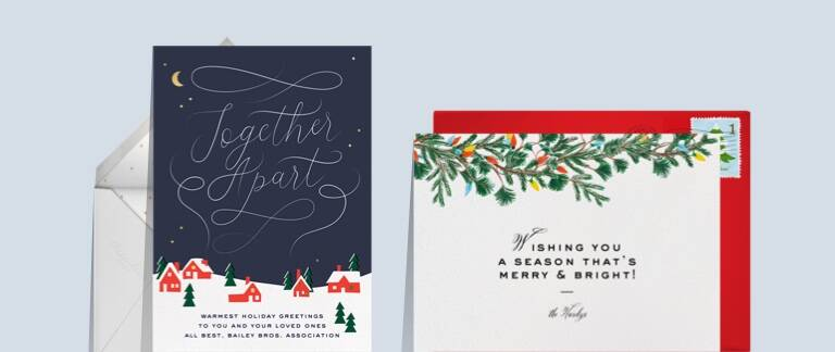 Business Holiday Cards Send Online Instantly Track Opens