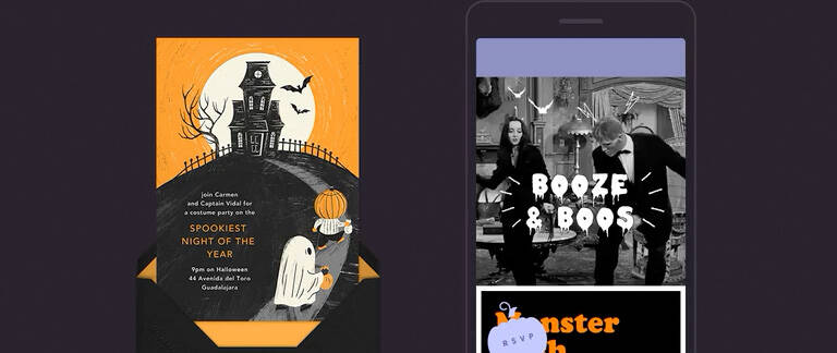 Halloween Invitations Send Online Instantly Rsvp Tracking Players get to collect the cute mummy as well as other small creatures! halloween invitations send online