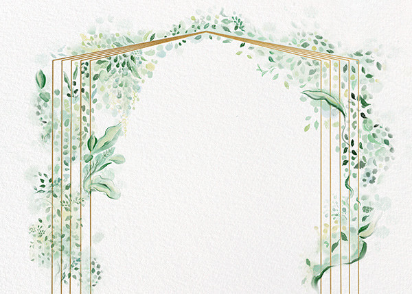 Painted Arbor - Paperless Post - Save the dates