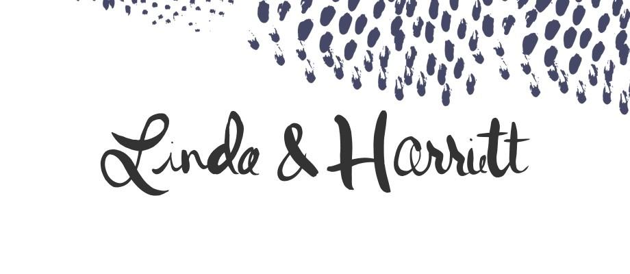 Linda and Harriett