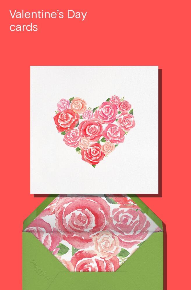Valentine Cards-  paper