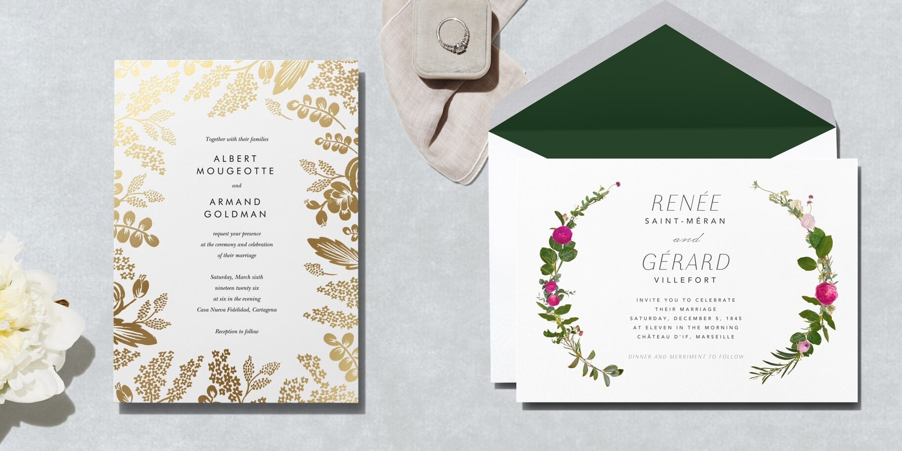 Paper Cards And Invitations On Paper Paperless Post